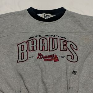 Vintage Lee Sport Atlanta Braves Crewneck